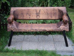 Výroba lavičky