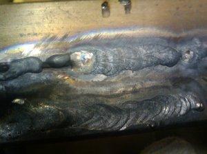 Svařování plechu 2mm